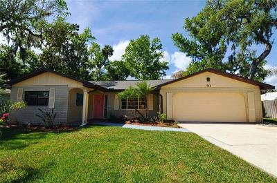 Port Orange Single Family Home For Sale: 966 Bramble Bush Circle E