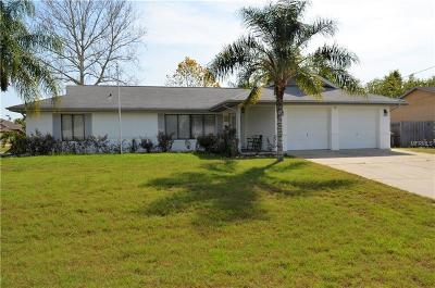 Deltona Single Family Home For Sale: 843 Sweetbrier Drive
