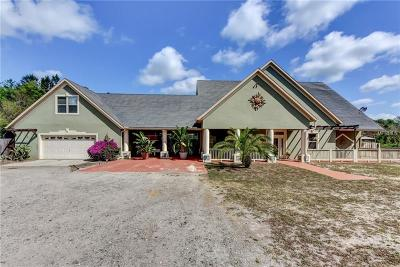 Deland Single Family Home For Sale: 33105 Evergreen Road