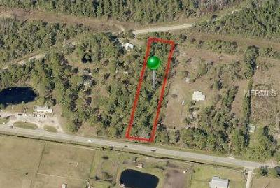 Volusia County Residential Lots & Land For Sale: 1350 W State Road 40