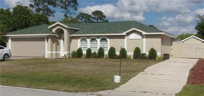 Deltona Single Family Home For Sale: 1915 Laredo Drive