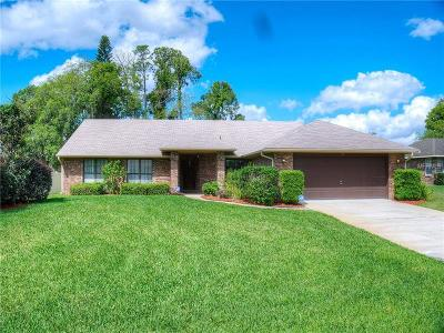 Debary Single Family Home For Sale: 16 Bass Lake Drive