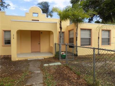 Daytona Beach Multi Family Home For Sale: 1117 S Ridgewood Avenue #ETAL