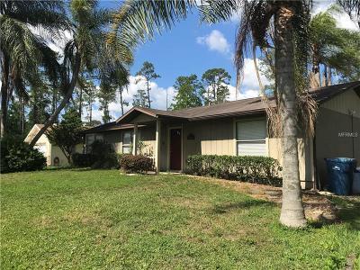 Deland Single Family Home For Sale: 2150 7th Avenue