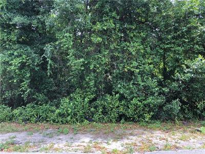 Eustis Residential Lots & Land For Sale: Quince Avenue