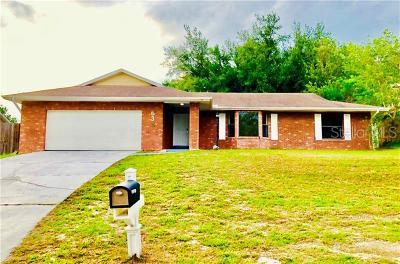 Deltona Single Family Home For Sale: 638 Applegate Terrace