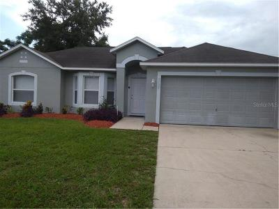 Deltona Single Family Home For Sale: 2759 Gramercy Drive