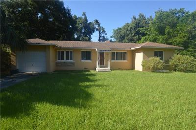 Debary Single Family Home For Sale: 21 Lake Drive