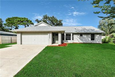 Edgewater Single Family Home For Sale: 2523 Sabal Palm Drive