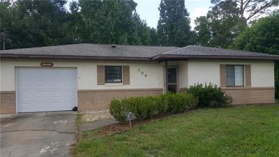 Debary Single Family Home For Sale: 104 Homestead Avenue