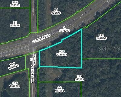 Hernando County Commercial For Sale: View Map Cortez & Emerson #49 Bypass