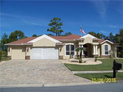 Spring Hill Single Family Home For Sale: 10341 Palmgren Lane