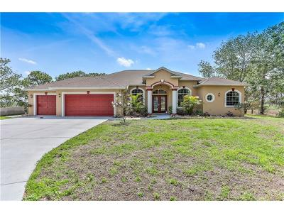 Spring Hill Single Family Home For Sale: 8525 Elgrove Street