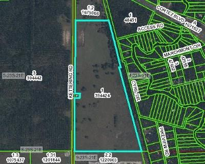 Hernando County Commercial For Sale: Kettering Road