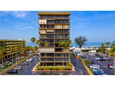 St Pete Beach Condo For Sale: 5396 Gulf Boulevard #107
