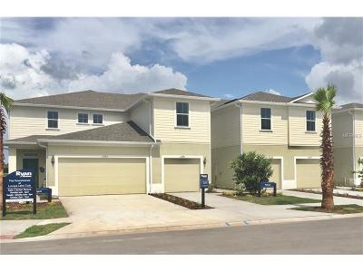 Riverveiw, Riverview, Riverview/tampa Townhouse For Sale: 10983 Verawood Drive