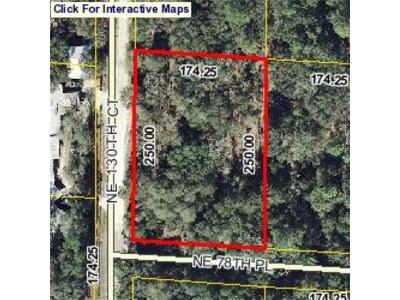 Levy County Residential Lots & Land For Sale: NE 78th Pl