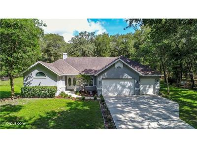 Brooksville Single Family Home For Sale: 24311 McCaw Road
