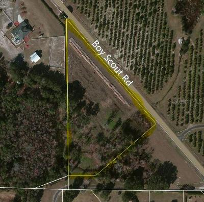 Residential Lots & Land For Sale: 17000 Boy Scout Road