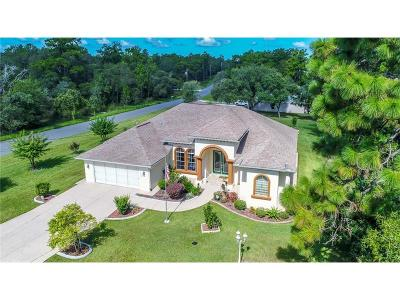 Weeki Wachee Single Family Home For Sale: 11163 Labrador Duck Road