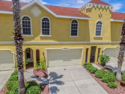Hernando County, Hillsborough County, Pasco County, Pinellas County Townhouse For Sale: 8707 Jasmeen Garden Court