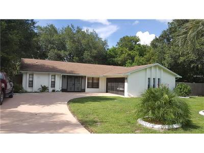 Spring Hill Single Family Home For Sale: 7453 Tranquil Drive