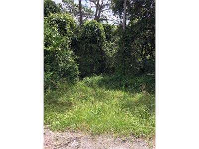 Hernando County, Hillsborough County, Pasco County, Pinellas County Residential Lots & Land For Sale: 0 Bounty Street