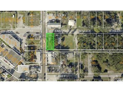 Tarpon Springs Residential Lots & Land For Sale: Spruce Street