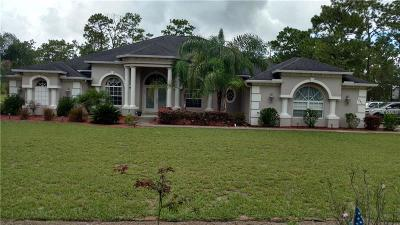 Hernando County Single Family Home For Sale: 8441 Stardust Way