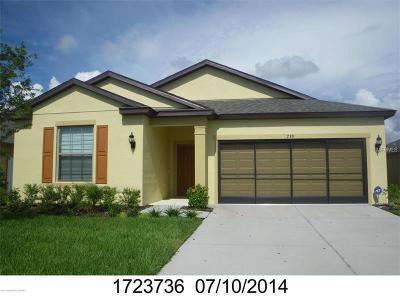 Brooksville Single Family Home For Sale: 739 Alpine Thistle Drive