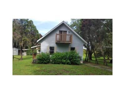 Dunnellon Single Family Home For Sale: 6491 W Riverbend Road