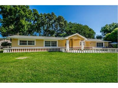 Tarpon Springs Single Family Home For Sale: 804 Gulf Road