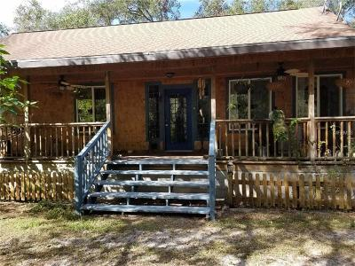 Brooksville Single Family Home For Sale: 12000 Canopy Oaks Road