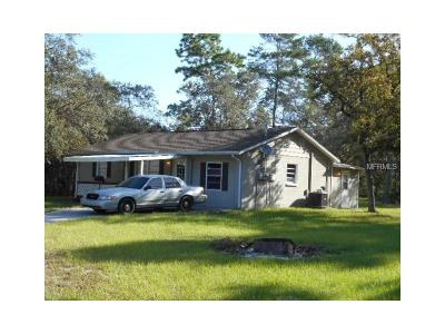 Spring Hill Single Family Home For Sale: 17236 Shady Hills Road