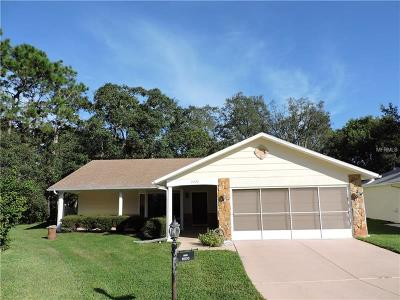 Hernando County Single Family Home For Sale: 2227 Pebble Beach Drive