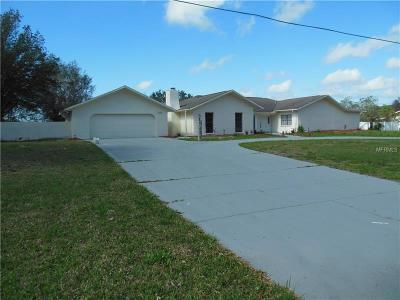 New Port Richey Single Family Home For Sale: 2535 Meadowood Drive