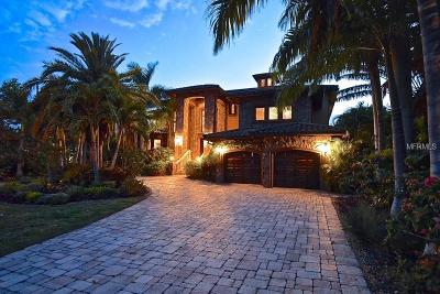 Sarasota FL Single Family Home For Sale: $4,990,000