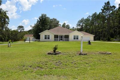 Webster Single Family Home For Sale: 7133 Elaine Drive