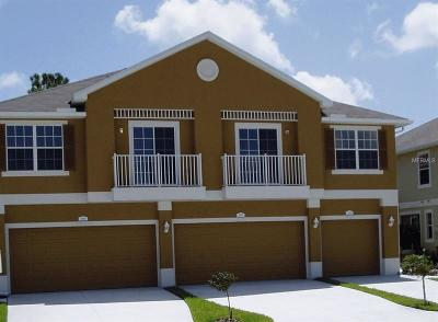 New Port Richey Townhouse For Sale: 7500 Red Mill Circle