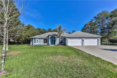 Weeki Wachee Single Family Home For Sale: 11235 Warm Wind Way
