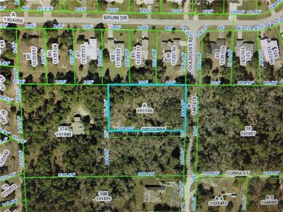Hernando County, Hillsborough County, Pasco County, Pinellas County Residential Lots & Land For Sale: Golddust Road