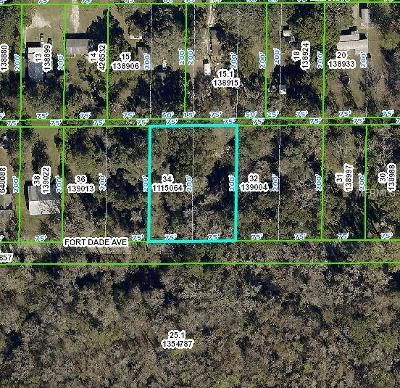 Hernando County, Hillsborough County, Pasco County, Pinellas County Residential Lots & Land For Sale: 20083 Fort Dade Avenue