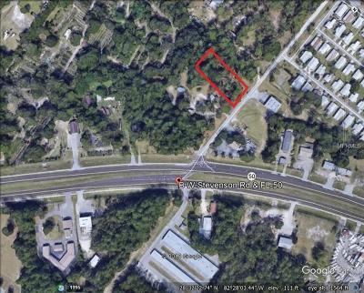 Hernando County Commercial For Sale: 7453 B W Stevenson Road