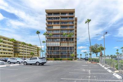 St Pete Beach Condo For Sale: 5396 Gulf Boulevard #107