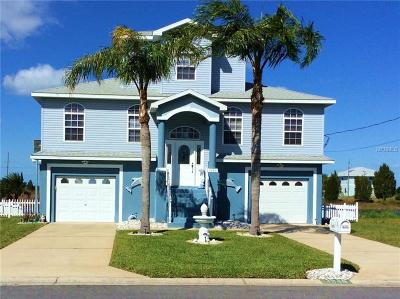 Hernando Beach Single Family Home For Sale: 3249 Spanish Bayonet Drive