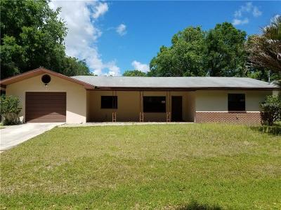 Inverness Single Family Home For Sale: 6491 E Mobile Street