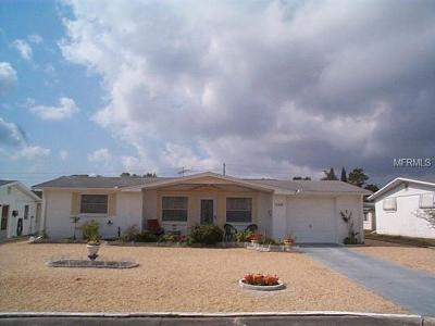 New Port Richey Single Family Home For Sale: 5314 Swallow Drive