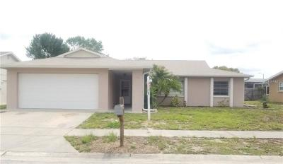 Port Richey Single Family Home For Sale: 11520 Bear Paw