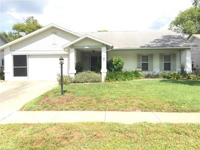 New Port Richey, New Port Richie Single Family Home For Sale: 4718 Parkdale Lane