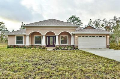 Homosassa Single Family Home For Sale